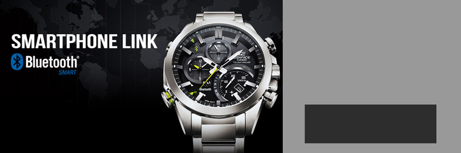 Casio Edifice outlet banner
