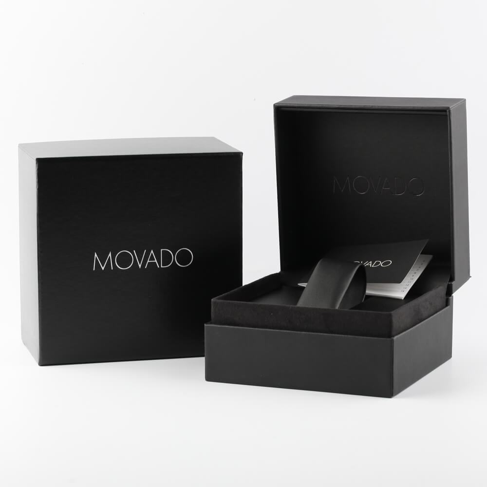 Ultrathin rectangular ladies quartz watch Spring and Summer Collection Movado