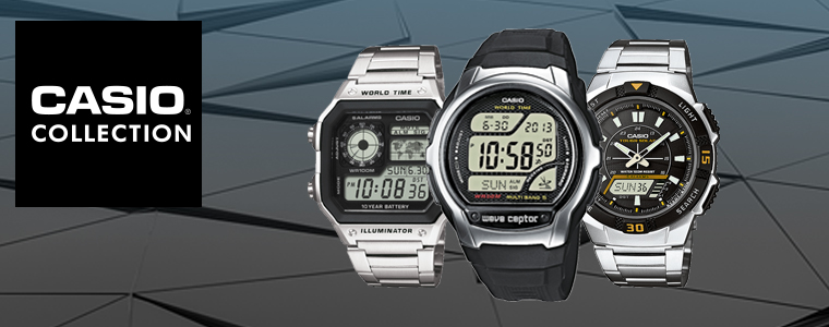 Casio Collection watches