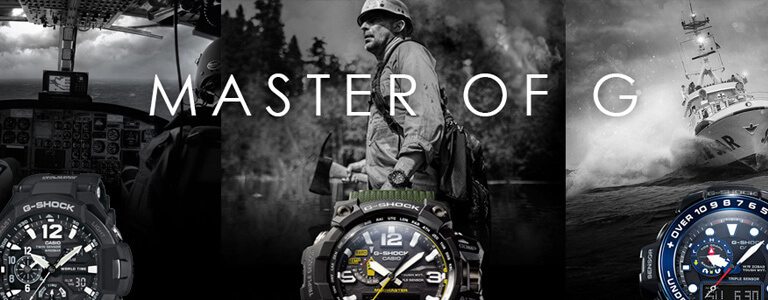 G Shock Master Of G watches