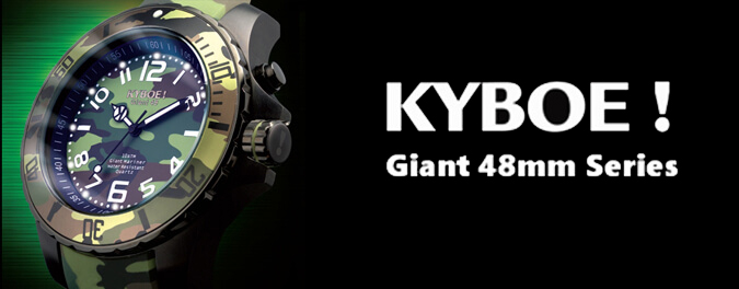 Kyboe Giant 48mm watches