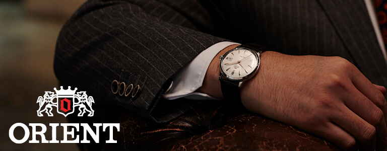 Buy Orient Watches online • Fast shipping • Watch co uk