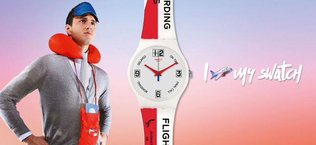 Swatch A Travelers Dream watches