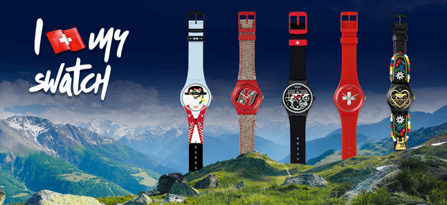 Swatch Swissness watches