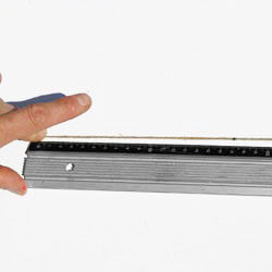 4. Measure against a ruler