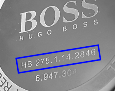 Hugo Boss watch straps
