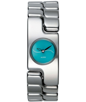 AL15001 Mariposa 20mm Silver & Turquoise Ladies watch