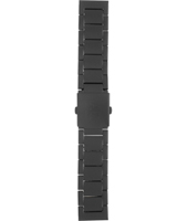 AAX1503 AX1503 22mm Black coated Stainless Steel Bracelet
