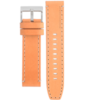 AAX1516 AX1516 22mm Brown Leather Strap