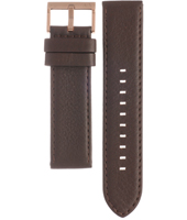 AAX2090 AX2090 22mm Brown Leather Strap
