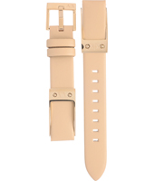 AAX5301 AX5301 16mm Beige Leather Strap
