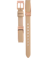 AAX5353 AX5353 12mm Beige Leather Strap