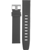 ABN0013GYGYG BN0013GYGYG 22mm Grey leather strap