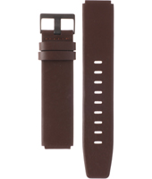 ABN0035BKBRG BN0035 18mm Brown Leather Strap