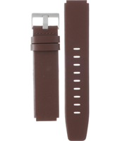 ABN0035SLBRG BN0035 + BN0142 18mm Brown Leather Strap