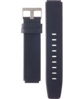 ABN0142WHBLG BN0142 18mm Blue Leather Strap