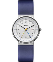 BN0142WHBLG BN0142 Blue & White Dual Time Watch