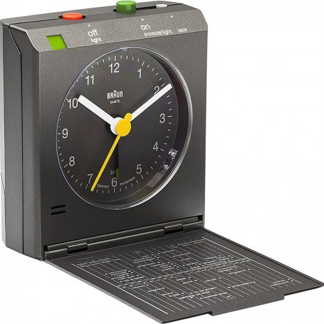 Braun Clock Grey