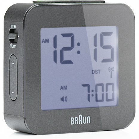 Braun Clock White