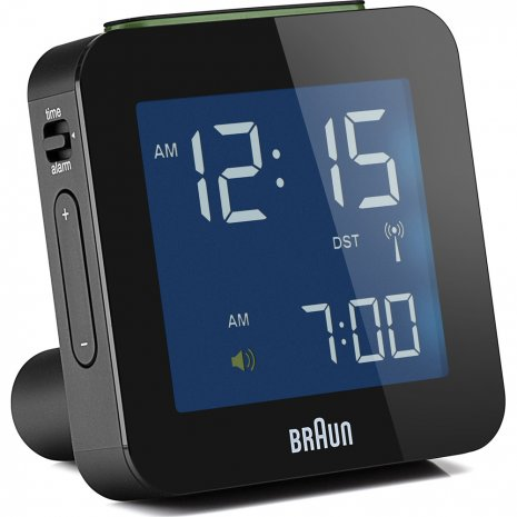 Braun Clock Black