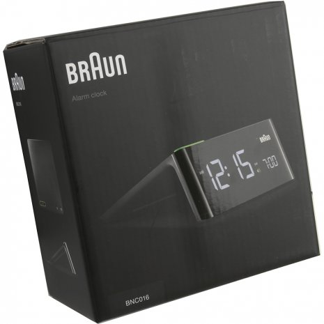 Stylish Alarm Clock With Modern Design Autumn and Winter Collection Braun
