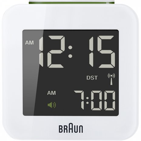 Braun Digital Alarm Clock Clock