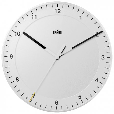 Braun Wall Clock Quartz Clock
