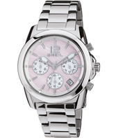 TW1553 Endorse 38mm Silver Ladies Chronograph with Pink Dial