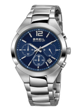 TW1400 Gap Lady 39mm Silver ladies watch with blue dial and steel bracelet