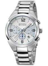 TW1274 GAP  42mm Steel & light Blue Gents Chronograph
