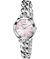 TW1492 Night Out 32mm Silver ladies watch with chain bracelet