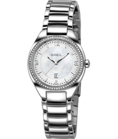 TW1278 Precious 32mm Silver & crystals ladies watch with date