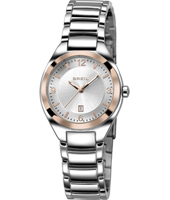 TW1280 Precious 32mm Silver & Rose Gold ladies watch with date
