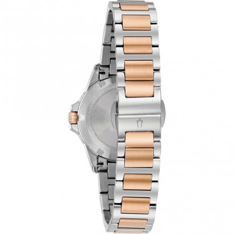 Bulova Watch Bicolor Rose