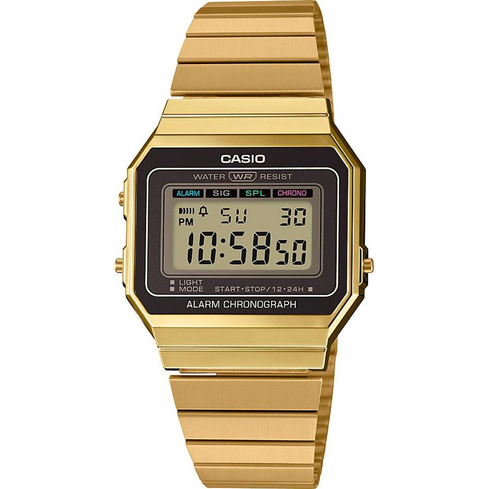 c4838b3d8fe7 Casio Retro Digital A700WEG-9AEF Classic Edgy Watch • EAN ...