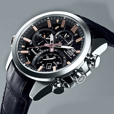 Casio Edifice Watch Black
