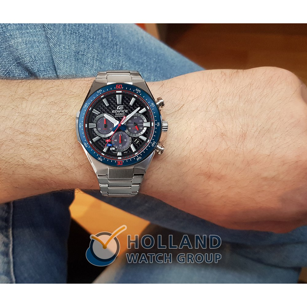 e59bc72df Limited Edition Solar Power watch with Carbon Fiber Dial Spring and Summer  Collection Casio Edifice