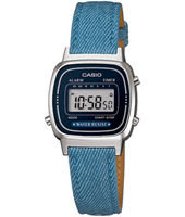 LA670WEL-2A2EF  24.60mm Blue And Silver Retro Ladies Watch