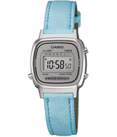 LA670WEL-2AEF  24.60mm Light Blue And Silver Retro Ladies Watch