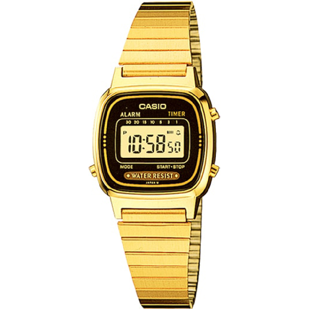 6eb43436e5dc Casio LA670WGA-1 Ladies Retro Watch • EAN  4971850436515 • Watch.co.uk