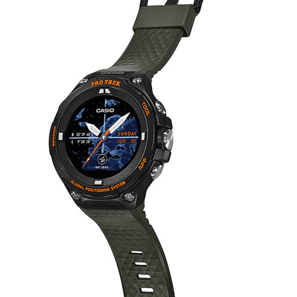 24faee4a8b5c Watch Black Quartz Digital. Outdoor Smartwatch with Replaceable Strap  Autumn and Winter Collection Casio