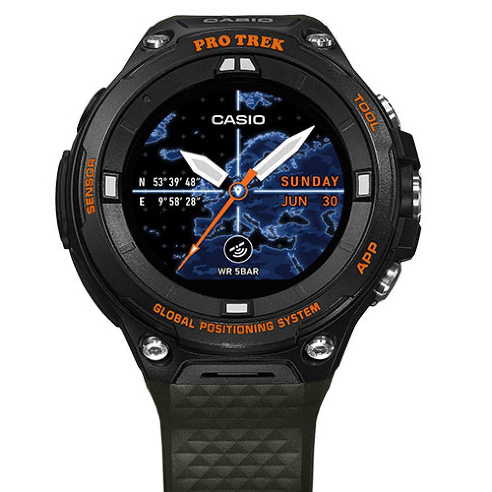 644b289ef5e4 Casio Pro Trek WSD-F20A-GNBAE Pro Trek Watch • EAN  4549526850639 ...