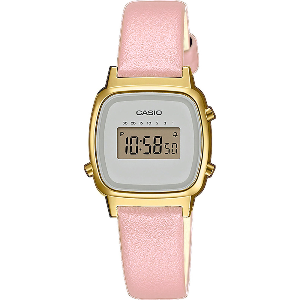 Casio Collection LA670WEFL-4A2EF Vintage Mini Watch • EAN: 4549526252259 •  Watch.co.uk