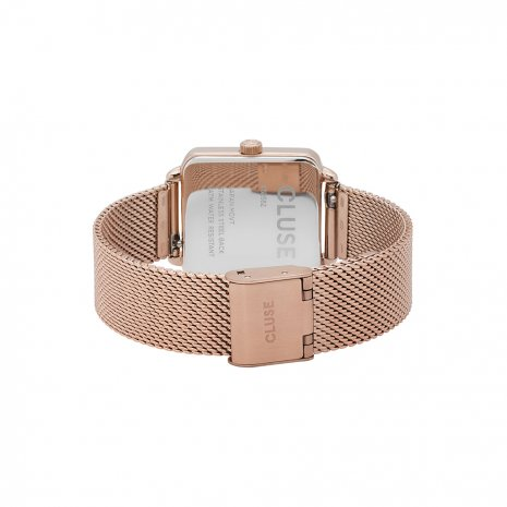 Square Ladies Quartz Watch with Mesh Bracelet Spring and Summer Collection Cluse