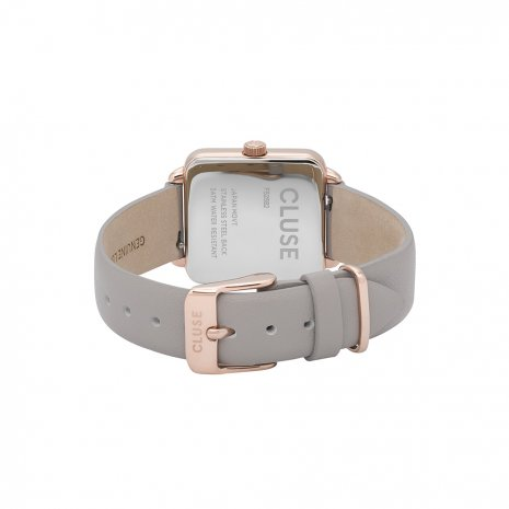 Square Ladies Quartz Watch on Leather Strap Spring and Summer Collection Cluse