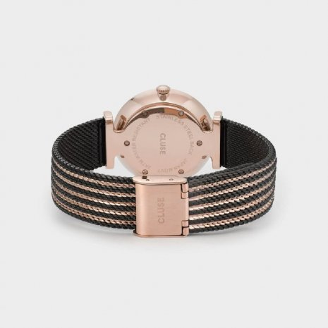 Ladies Quartz Watch with Mesh Bracelet Autumn and Winter Collection Cluse