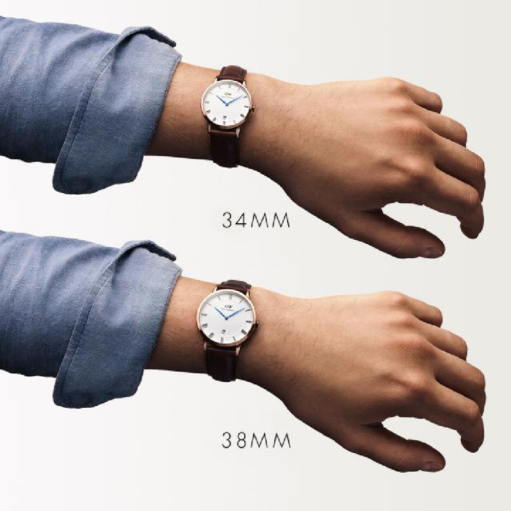 f028f2c56b07 Slim Classic Watch with Date Autumn and Winter Collection Daniel Wellington