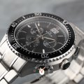 Edox Watch Black