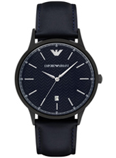 AR2479 Renato Large 43mm Dark Blue Gents Watch with Date