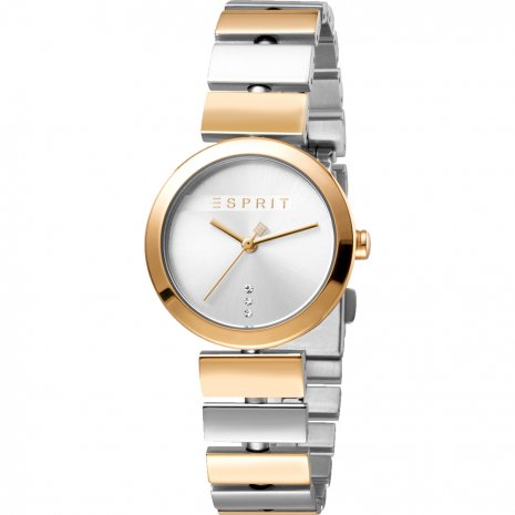 Ladies Watch with Gift Bracelet Autumn and Winter Collection Esprit